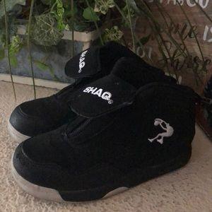 Kids Shaq black sneakers
